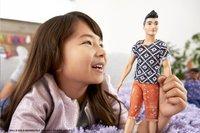 Barbie poupée mannequin  Ken Fashionistas Original 115 - Boho Hip-Image 1