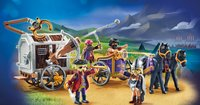 PLAYMOBIL The Movie 70073 Charlie met gevangeniswagon-Afbeelding 1