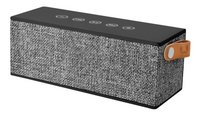 Fresh 'n Rebel haut-parleur Bluetooth Rockbox Brick Fabric Edition gris