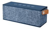 Fresh 'n Rebel haut-parleur Bluetooth Rockbox Brick Fabric Edition bleu