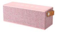 Fresh 'n Rebel luidspreker bluetooth Rockbox Brick Fabric Edition roze