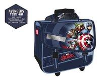 Cartable à roulettes Avengers bleu 41 cm