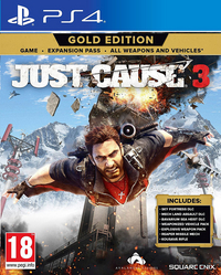 PS4 Just Cause 3 Gold Edition ENG/FR