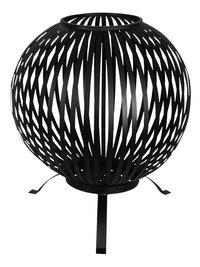 Esschert brasero Fire ball stripes noir-Avant