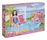 Barbie piscine-Côté gauche