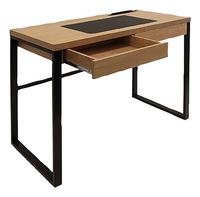 Bureau School zwart metaal/hout-Artikeldetail