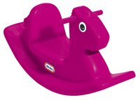 Little Tikes cheval à bascule Rocking Horse rose