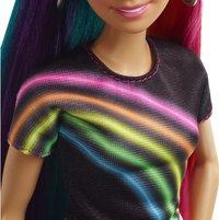 Barbie mannequinpop Regenboog glitterhaar-Artikeldetail