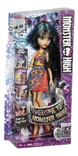 Monster High mannequinpop Dance the Fright Away Cleo de Nile-Linkerzijde
