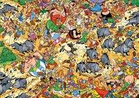 Ravensburger puzzel Asterix Jacht op de everzwijnen-Vooraanzicht