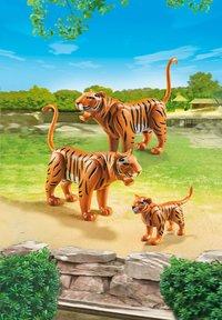 PLAYMOBIL City Life 6645 Couple de tigres avec bébé-Image 1