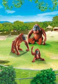 Playmobil City Life 6648 Deux orangs-outangs avec bébé-Image 1