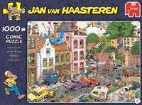 Jumbo puzzel Jan Van Haasteren Vrijdag de 13de-Vooraanzicht