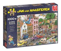 Jumbo puzzel Jan Van Haasteren Vrijdag de 13de-Linkerzijde