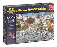 Jumbo puzzel Jan Van Haasteren De Winterspelen-Linkerzijde