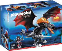 Playmobil Dragons 5482 Grand Dragon royal avec flamme lumineuse