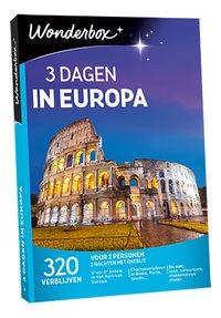 Wonderbox 3 Dagen Europa-Vooraanzicht