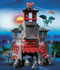Playmobil Dragons 5480 Citadelle secrète du dragon-Image 1