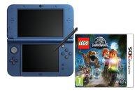 Nintendo console New 3DS XL blauw + LEGO Jurassic World ENG