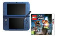 Nintendo console New 3DS XL blauw + LEGO Jurassic World FR