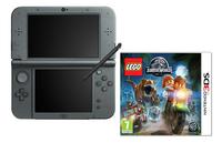 Nintendo console New 3DS XL zwart + LEGO Jurassic World FR