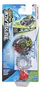 Beyblade draaitol Burst Turbo SlingShock Iron X Surtr S4-Vooraanzicht