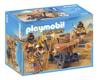 PLAYMOBIL History 5388 Soldaten van de farao met ballista-Vooraanzicht