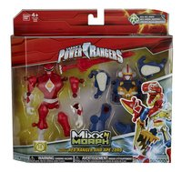 Set Power Rangers Mixx N Morph Mighty Morphin Red Ranger & Ape Zord-Côté gauche