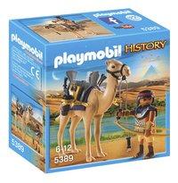 Playmobil History 5389 Combattant égyptien avec dromadaire