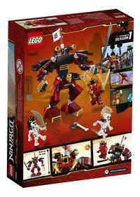LEGO Ninjago 70665 De Samoerai Mech-Achteraanzicht