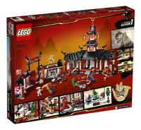 LEGO Ninjago 70670 Het Spinjitzu klooster-Achteraanzicht
