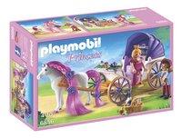 Playmobil Princess 6856 Calèche royale avec cheval à coiffer-Avant