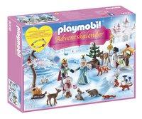 Playmobil Christmas 9008 Calendrier de l'Avent Famille royale en patins à glace