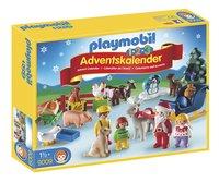 Playmobil Christmas 9009 Adventskalender 1.2.3 Kerst op de boerderij