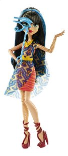 Monster High mannequinpop Dance the Fright Away Cleo de Nile-commercieel beeld