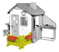 Smoby uitbreiding voor speelhuisjes Neo Jura Lodge, My Neo House en Chef House - Tuintje-Vooraanzicht
