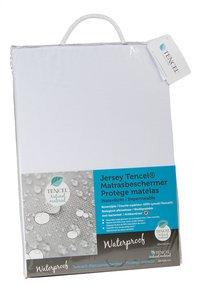 Protège-matelas (housse) waterproof tencel/polyuréthane (PU) Lg 90 x L 200 cm-Côté gauche