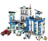 LEGO City 60047 Politiebureau-Vooraanzicht