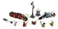 LEGO Ninjago 70667 Zwaardmotor van Kai & Sneeuwscooter van Zane-Vooraanzicht