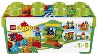 LEGO DUPLO 10572 Alles in één groene doos-Vooraanzicht