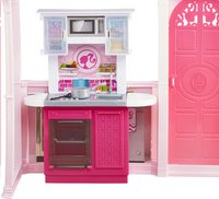 Barbie speelset Huis met 3 poppen-Artikeldetail