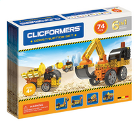 Clicformers Construction set 6-in-1-Linkerzijde
