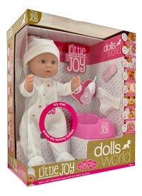 Dolls World interactieve pop Little Joy wit-Linkerzijde