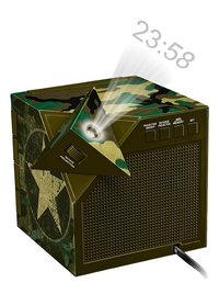 bigben Wekkerradio met projectie RR70 Army camouflage-Artikeldetail