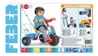Feber driewieler Baby Trike blauw-Vooraanzicht