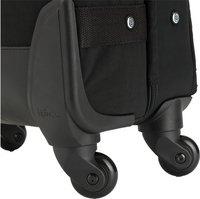 Kipling zachte reistrolley Cyrah S True Black 55 cm-Onderkant