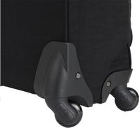 Kipling zachte reistrolley Darcey True Black 55 cm-Onderkant