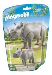 Playmobil City Life 6638 Rhinocéros et son petit