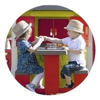 Smoby uitbreiding voor speelhuisjes Neo Jura Lodge, My Neo House en Chef House - Picknicktafel-Afbeelding 1