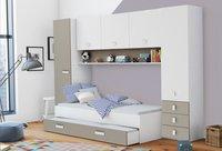 Tidy bed met kasten en bedlade-Afbeelding 1